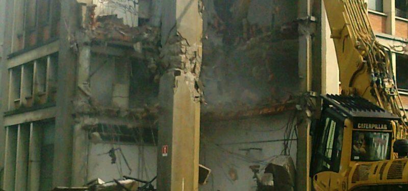 Demolizione Centrale Elettrica Nylstar - Milano